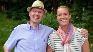 Dan Idman och Daniela Andersson.