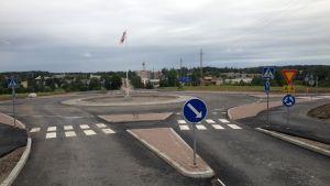 nickbys tredje rondell färdig vid ådalen juli 2016