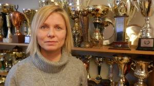 Jaros verksamhetsledare Heidi Matinlassi i Jakobstad