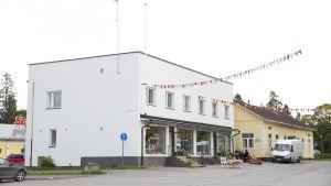 Lapinjärven keskusta.