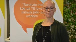 Irene Råstu, handledare, Österbottens arbets- och näringsbyrå