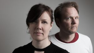 Susanne Skata och Jens Ganman står bakom Åsiktskorridoren.