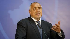Bulgariens premiärminister Boyko Borissov.