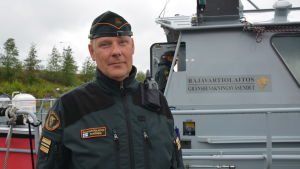 Kaptenlöjtnant Martin Saarinen.