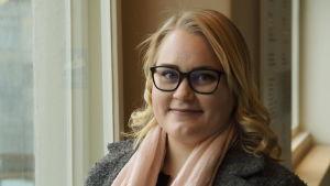 Samlingspartiets riksdagskandidat Veera Hellman