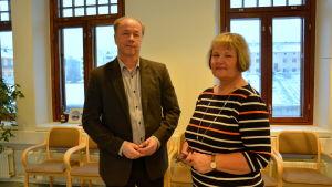 Tomas Eklund och Gilla Granberg.