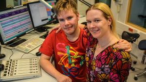 Benjamin Carlsen och Katarina Lind