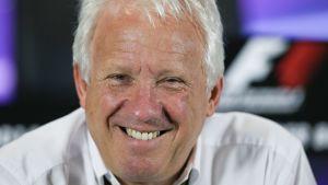 Charlie Whiting var en omtyckt person i F1-världen.