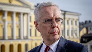 Valtiovarainministeriön budjettipäälikkö Hannu Mäkinen