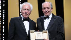 De belgiska bröderna och regissörerna Jean-Pierre Dardenne och Luc Dardenne belönades i Cannes
