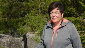 Maria Norrgård är Mickelsörarnas jaktklubbs jaktchef.