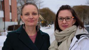 Susanna Heli och Petra Turja