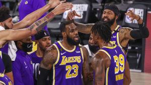 Los Angeles Lakers klart för NBA-final.