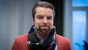 Psykoterapiakeskus Vastaamo Oy.n toimitusjohtaja Ville Tapio, Mannerheimintie 12 B, 02.12.2016.