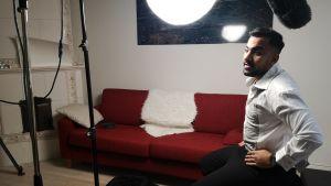 Ali Saad haastattelussa