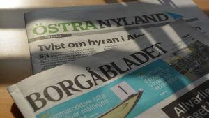 Borgåbladet och Östra Nyland