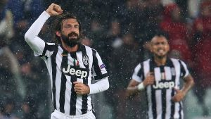 Andrea Pirlo gjorde mål i sin jubileumsmatch