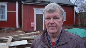 Kim Svenskberg, ordförande för östra nylands ungdomsförbund