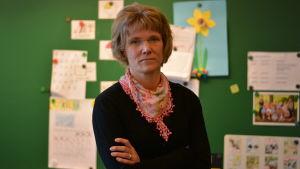 Charlotta Allamo, rektor för Billnäs skola.