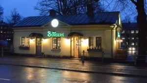 B-side burgers på Fredgatan i Borgå.