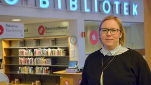 Vasas kulturchef Sanna Bondas.
