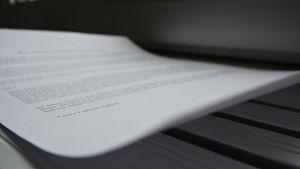 ett papper