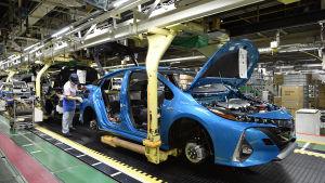 Toyotafabrik i Japan
