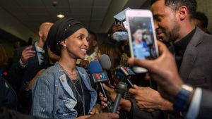 Ilhan Omar blev den första muslimska kvinnan i maktens korridorer i Washington.