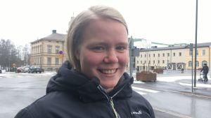 Ida Kuoppala hemma i Jakobstad.