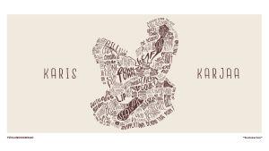 Tävlingsbidrag till muraltävling i Karis.