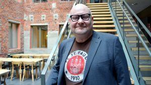 Peter Ehrström, forskningschef i regionalvetenskap på Åbo Akademi i Vasa.