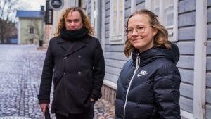 Kim Gustafsson och Merete Lindholm