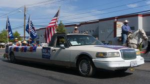 Latinoväljare visar sitt stöd för Joe Biden.