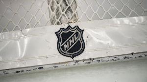 NHL:s logo.