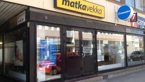 Matka-Vekkas resebyrå i Karleby.