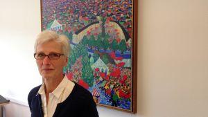 Gunborg Gayer går i pension den första november 2014.