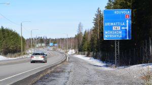 Bild på riks väg 6