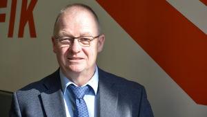 Dick Wallenius, trafikchef vid Borgå trafik