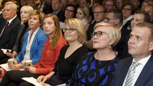 Finländska partiledare