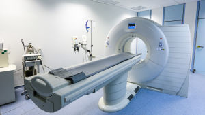 En PET-CT-röntgenapparat.