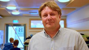 Rektor Fredrik Sundell i Gerby skola.
