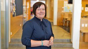 Annika Snickars, rektor för Sundom skola
