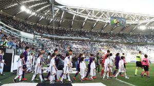 Juventus damer mötte Fiorentina inför 39 000 ögonpar.