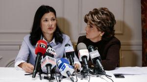 Natassia Malthe är en av de över 70 kvinnor som har lagt fram detaljerade beskyllningar mot Weinstein. Hon liksom flera andra av offren representeras av den kända advokaten Gloria Allred