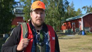 Peter Norlin är projektkoordinator för Famna projektet som tagit fram de nya fällorna.