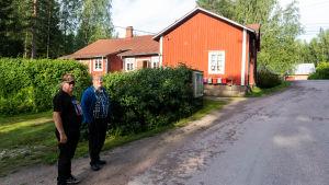 Gårdsvy vid Wårkulla.