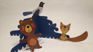 Paperiset metsäneläimet