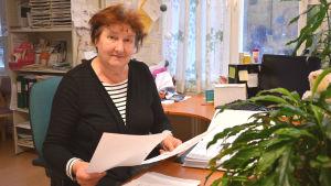 Enhetschef för förebyggande hälsovård och rådgivning Maj-Britt Malmén.