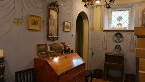Interiör i Casa Haartman.