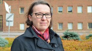 Veronica Dalenius är ordförande för föräldraföreningen vid Finno skola.